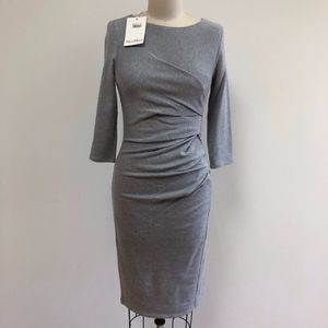 NWT MAX MARA knit dress heather grey